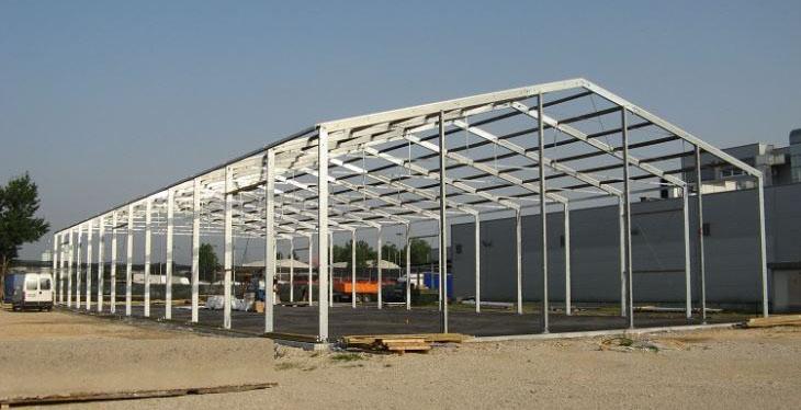 Строительство легких складов