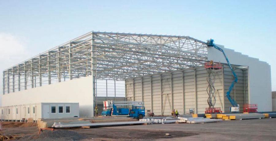 Строительство теплого склада