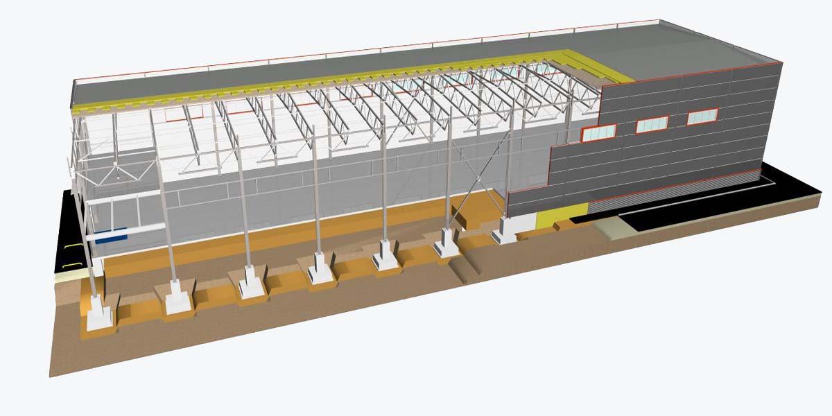 Готовый проект склада