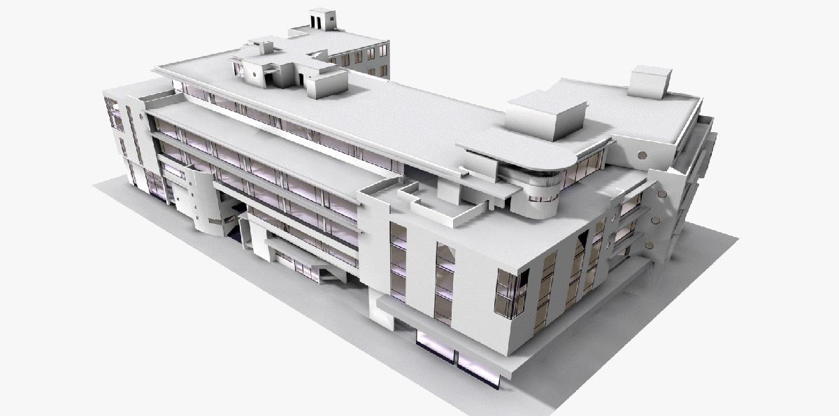 Проекты общественных зданий
